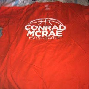 Orange Conrad McRae league shirt